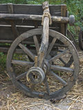 Old wooden wheel. Image of an old wooden wheel royalty free stock photos