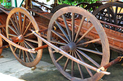 Old wooden wheel Royalty Free Stock Image