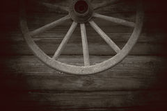 Old wooden wheel Stock Photos