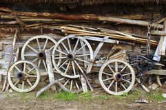 Free Old Wooden Wheels Royalty Free Stock Images - 8857049
