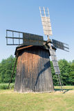 Old wooden wind mill Royalty Free Stock Photography