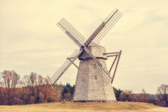 Free Old Wooden Windmill Royalty Free Stock Photo - 53370045