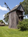 Old wooden windmill Stock Photos