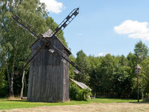 Old wooden windmill Royalty Free Stock Photography