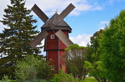 Windmill in countryside Royalty Free Stock Photography