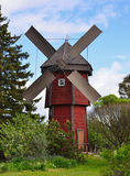 Windmill in countryside Stock Photography
