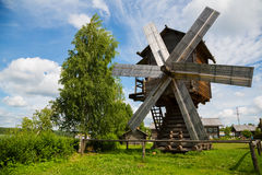 Free Old Wooden Windmill In Countryside In Russia Royalty Free Stock Image - 86084476
