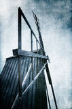 Old wooden windmill Royalty Free Stock Images