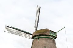 Old wooden windmill. Large view on the old wooden windmill Royalty Free Stock Photo
