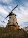 Old wooden windmill in Poland Royalty Free Stock Photography