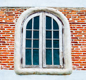 The Old wooden window Royalty Free Stock Photography