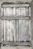 The old wooden window Stock Photo