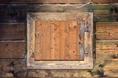 Old wooden window Stock Images