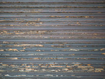 Old Wooden Window Blinds Stock Photography