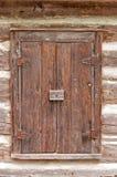 Old wooden window Stock Photo
