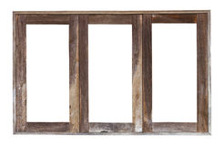 Old Wooden Window Frame Stock Photos