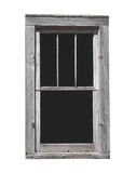Old wooden window isolated Stock Image