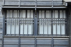 Old wooden window. Royalty Free Stock Photography