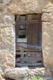 Old wooden window. Rural tourism in Asturias, Spain stock photos