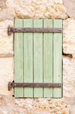 Old wooden window shutter Royalty Free Stock Image