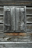 Old Wooden Window Shutters Stock Images