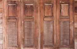 Old wooden window. Stock Image
