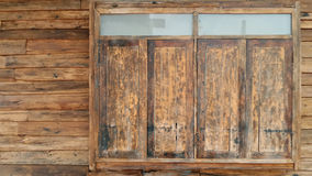 Old wooden windows Royalty Free Stock Images