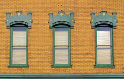 Old wooden windows Royalty Free Stock Photo