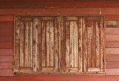 Old wooden windows Royalty Free Stock Image