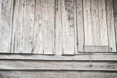 Old wooden windows Stock Photo