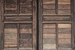 Old Wooden Windows. Used for background, texture, wallpaper Royalty Free Stock Photos