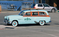 Old 'Woodie' Car Royalty Free Stock Image