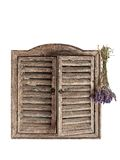 Old woody window Royalty Free Stock Photography