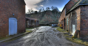 Old Worcestershire farmyard Royalty Free Stock Photo