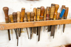 Old Work Tools Royalty Free Stock Images