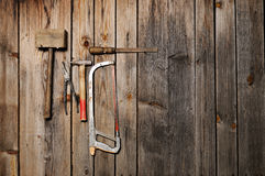 Old work tools Royalty Free Stock Image