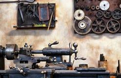 Old workbench Stock Photos