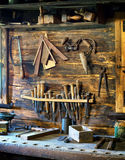 Old workbench Stock Photography