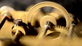 Old working mechanism stock video