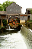 Old working mill in Pigeon Forge Royalty Free Stock Image