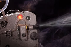 Old amateur movie projector Royalty Free Stock Photo