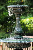 Old working water fountain in the park Royalty Free Stock Image