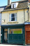 Old workshop in english street Royalty Free Stock Photo