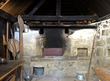 Old World Bread oven royalty free stock images