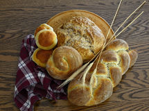 Old World Breads Royalty Free Stock Images
