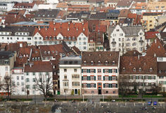 Old World City Architecture of Basel Royalty Free Stock Images
