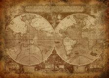 Free Old World Map Stock Photos - 14067403