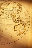 Old World Map. Part of old world map, showing Indian Ocean and Australia. Focus is on Australia. Map is from 1811 and is out of copyright stock photos