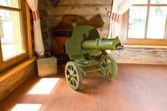 Old World War II machine gun Stock Images