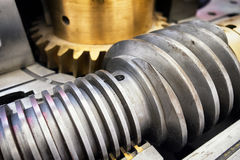 Old worm gear Royalty Free Stock Photos